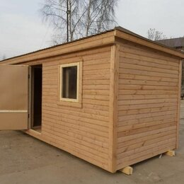 Готовые строения - Каркасная мобильная баня, 0