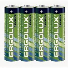 Батарейки - Элемент питания Ergolux R6/316 4S (584829), 0