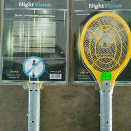 Прочие хозяйственные товары - Мухобойка NightVision NV005 электрическая, 0