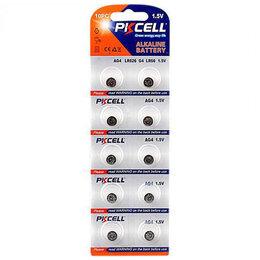 Аксессуары и запчасти для оргтехники - Щелочной/алкалиновый эл пит PKCELL AG4-10В 10шт, 0