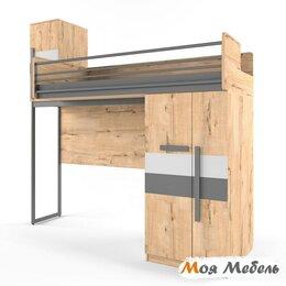 Кровати - Кровать верхняя правая малая без лесенки шкаф…, 0