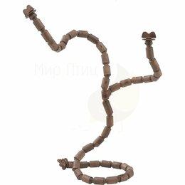 Игрушки и декор  - Пластиковая жердочка для канареек и маленьких экзотических птиц FLEX 4192 - Аксе, 0