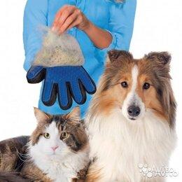 Груминг и уход - Перчатка для вычесывания шерсти домашних животных, 0