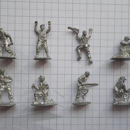 Модели - Немецкий африканский корпус оловянные солдатики 8 шт, 0