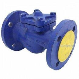 Элементы систем отопления - Клапан обратный V-287 Ду 50 фланцевый (Zetkama), 0