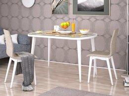 Столы и столики - Стол нераскладной Сочи-3 со стеклом., 0