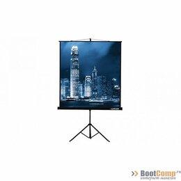 Аксессуары для проекторов - Экран проекционный 203x203 на треноге Lumien Master View, 0
