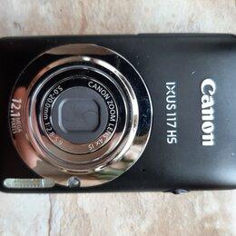 Фотоаппараты - Фотоаппарат Canon ixus 117hs, 0