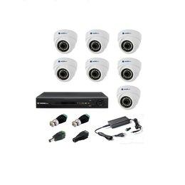 Камеры видеонаблюдения - Комплект видеонаблюдения Matrix Tech на 7 камер, 0