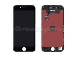 Дисплеи и тачскрины - Дисплей для iPhone 6 + тачскрин черный с рамкой…, 0