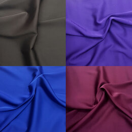 Рукоделие, поделки и товары для них - Ткань искусственный шелк Армани разные цвета, 0