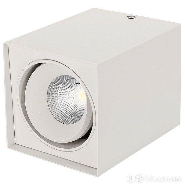 Накладной светильник Arlight Sp-cubus SP-CUBUS-S100x100WH-11W Warm White 40deg по цене 4498₽ - Интерьерная подсветка, фото 0