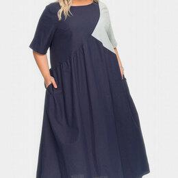 Платья - Платье летнее ЛаТэ р.58-60 лен/вискоза новое, 0