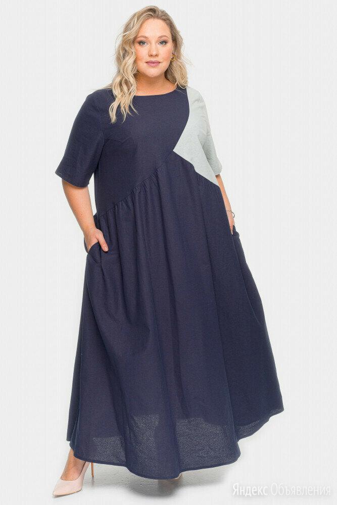 Платье летнее ЛаТэ р.58-60 лен/вискоза новое по цене 3500₽ - Платья, фото 0