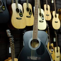 Акустические и классические гитары - Акустическая гитара Parkwood PF 51 BKS, 0