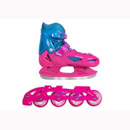 Обувь для спорта - Ролики+ Коньки 2в1 BlackAqua RT 26-29р мультиколор, 0