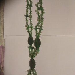 Кулоны и подвески - бусы из нефрита, 0