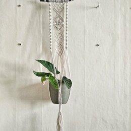 Горшки, подставки для цветов - Подвес для кашпо на ветке, 0