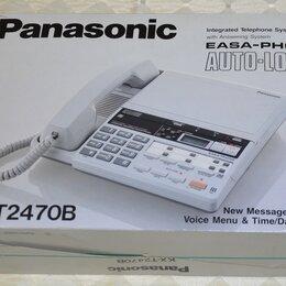 Проводные телефоны - телефон автоответчик Panasonic KX-T2470B, 0
