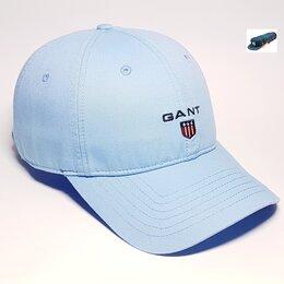Головные уборы - Бейсболка кепка Gant (голубая), 0