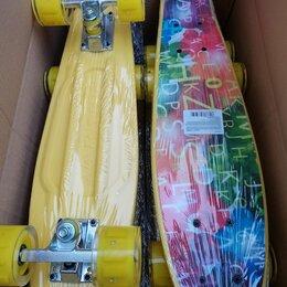 Скейтборды и лонгборды - Скейтборд пластиковый с принтом 003, 0
