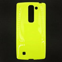 Чехлы - Силиконовый чехол для LG Magna H502/G4C (зеленый), 0