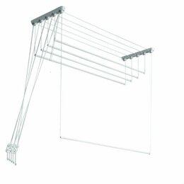 Сушилки для белья - Сушилка для белья потолочная ЛИАНА 1,9м, 5 стержней, 0