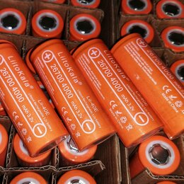 Батарейки - Аккумуляторы LiFePo4 Литокала 26700 4000 mAh, 0