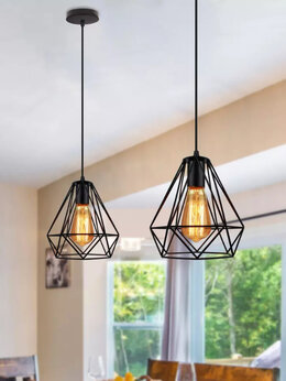 Люстры и потолочные светильники - Светильники подвесные в стиле сканди лофт, 0