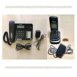 Проводные телефоны - Стационарный + радио телефон Panasonic KX-TG6451, 0