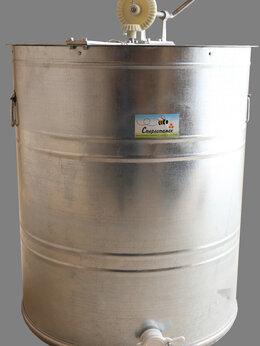 Товары для сельскохозяйственных животных - Медогонка четырехрамочная М4-ОК-ПК оц. кассеты…, 0