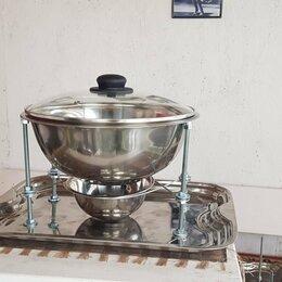 Аксессуары для грилей и мангалов - Садж-мармит, всегда горячий шашлык, 0