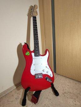 Электрогитары и бас-гитары - Электрогитара Fender Squier Stratocaster, 0
