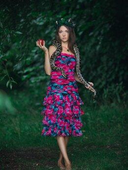 Платья - Цветочное платье, 0