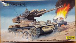 Сборные модели - Модель 81122 AMX 13/75 Lance SS11 1:35 Heller, 0