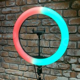 Осветительное оборудование - Кольцевая лампа RGB 33 см + Штатив 2 м, 0