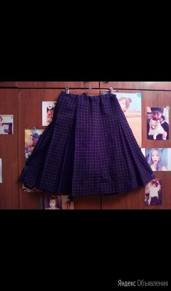 Продам школьную юбку по цене 500₽ - Юбки, фото 0
