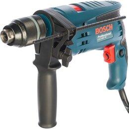 Дрели и строительные миксеры - Ударная дрель Bosch GSB 1600 RE (0.601.218.121), 700 Вт, БЗП 13 мм, 0