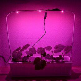 Аксессуары и средства для ухода за растениями - Лампа из полноспектровых фито светодиодов для…, 0