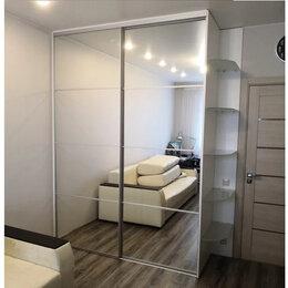 Шкафы, стенки, гарнитуры - Раздвижные двери-купе. Зеркало. Узкий профиль, 0