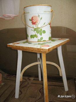 Стеллажи и этажерки - Подставка с горшком для цветов , 0