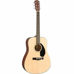 Акустические и классические гитары - FENDER CD-60S DREAD NAT WN Акустическая гитара, 0