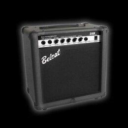 Оборудование для звукозаписывающих студий - Басовый комбоусилитель, 25Вт, Belcat | 25B, 0