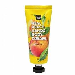 Уход за руками - Крем для рук и тела с экстрактом персика, 0