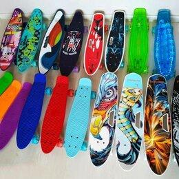 Скейтборды и лонгборды - Новый красивый современный пенни борд, 0