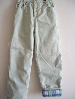 Полукомбинезоны и брюки - Брюки зимние утепленные на мальчика 10-12 лет ,б/у, 0