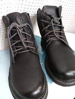 Ботинки - Ботинки мужские натуральная кожа, 0