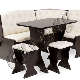 Банкетки и скамьи - скамья угловая со столом и табуретами новая с доставкой, 0
