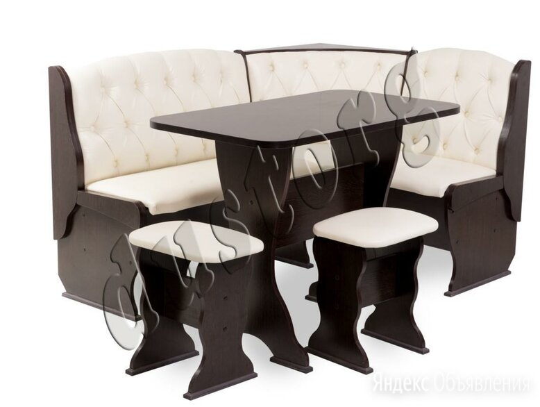 скамья угловая со столом и табуретами новая с доставкой по цене 11000₽ - Банкетки и скамьи, фото 0