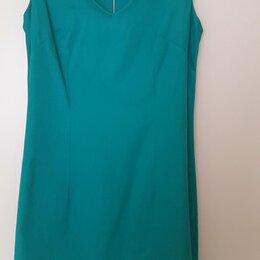 Платья - Платье короткое 100 хлопок, 44 размер, 0
